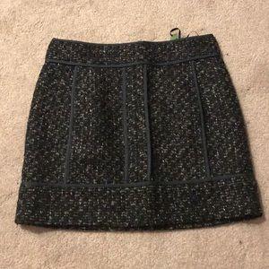 Wool pattern dress skirt